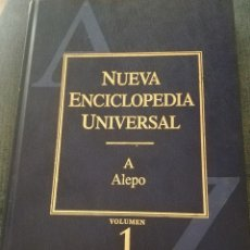 Enciclopedias de segunda mano: NUEVA ENCICLOPEDIA UNIVERSAL- LOTE COMPLETO 33 LIBROS. Lote 127115755