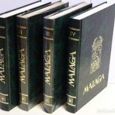 Enciclopedias de segunda mano: ENCILOPEDIA DE MÁLAGA Y PROVINCIA. 4 TOMOS. AÑO 1984. EDITORIAL ANEL GRANADA. 1450 PAG. 6 KG. Lote 127136507