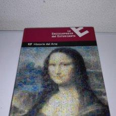 Enciclopedias de segunda mano: ENCICLOPEDIA DEL ESTUDIANTE 17 HISTORIA DEL ARTE. Lote 127365131