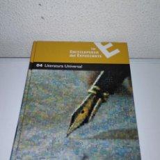 Enciclopedias de segunda mano: LA ENCICLOPEDIA DEL ESTUDIANTE -TOMO 4. LITERATURA UNIVERSAL SANTILLANA. Lote 196974977