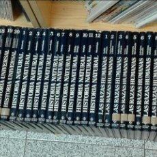 Enciclopedias de segunda mano: HISTORIA UNIVERSAL - HISTORIA NATURAL - LAS RAZAS HUMANAS - GEOGRAFÍA UNIVERSAL / 55 TOMOS / GALLACH. Lote 128236483