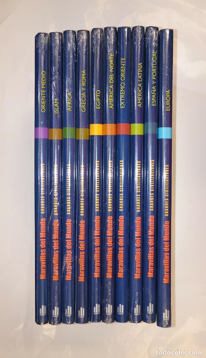 MARAVILLAS DEL MUNDO. GRANDES CIVILIZACIONES. COMPLETA. 10 TOMOS VOLUMENES. NUEVO. AUPPER. TDK163 (Libros de Segunda Mano - Enciclopedias)