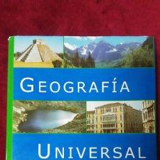 Enciclopedias de segunda mano: ENCICLOPEDIA GEOGRAFÍA UNIVERSAL. Lote 128346535