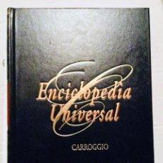 Enciclopedias de segunda mano: 24 TOMOS ENCICLOPEDIA UNIVERSAL CARROGGIO. Lote 128667607