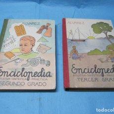 Enciclopedias de segunda mano: ENCICLOPEDIAS ALVAREZ SEGUNDO Y TERCER GRADO ANTONIO ALVAREZ PEREZ MIÑON. Lote 128731859