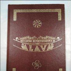 Enciclopedias de segunda mano: ENCICLOPEDIA HISTÓRICO-GEOGRÁFICA DE ÁLAVA (HARAMBURU EDITOR S.A., 1982). TOMO III. 3. TDK322. Lote 128914475