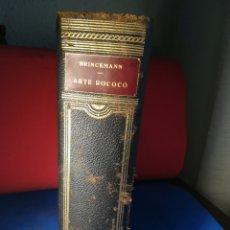 Enciclopedias de segunda mano: HISTORIA DEL ARTE LABOR, TOMO XIII - ARTE ROCOCÓ - BARCELONA, 1953. Lote 129735775