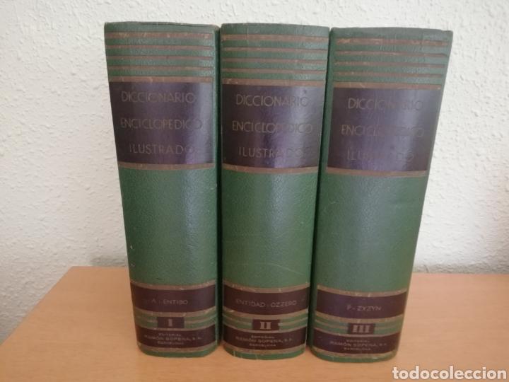 DICCIONARIO ENCICLOPÉDICO (1959) (Libros de Segunda Mano - Enciclopedias)