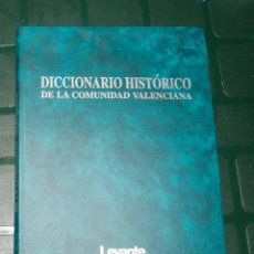 Enciclopedias de segunda mano: DICCIONARIO HISTÓRICO DE LA COMUNIDAD VALENCIANATOMO II. Lote 130607866