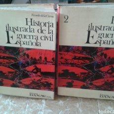 Enciclopedias de segunda mano: HISTORIA ILUSTRADA DE LA GUERRA CIVIL ESPAÑOLA. Lote 130855185