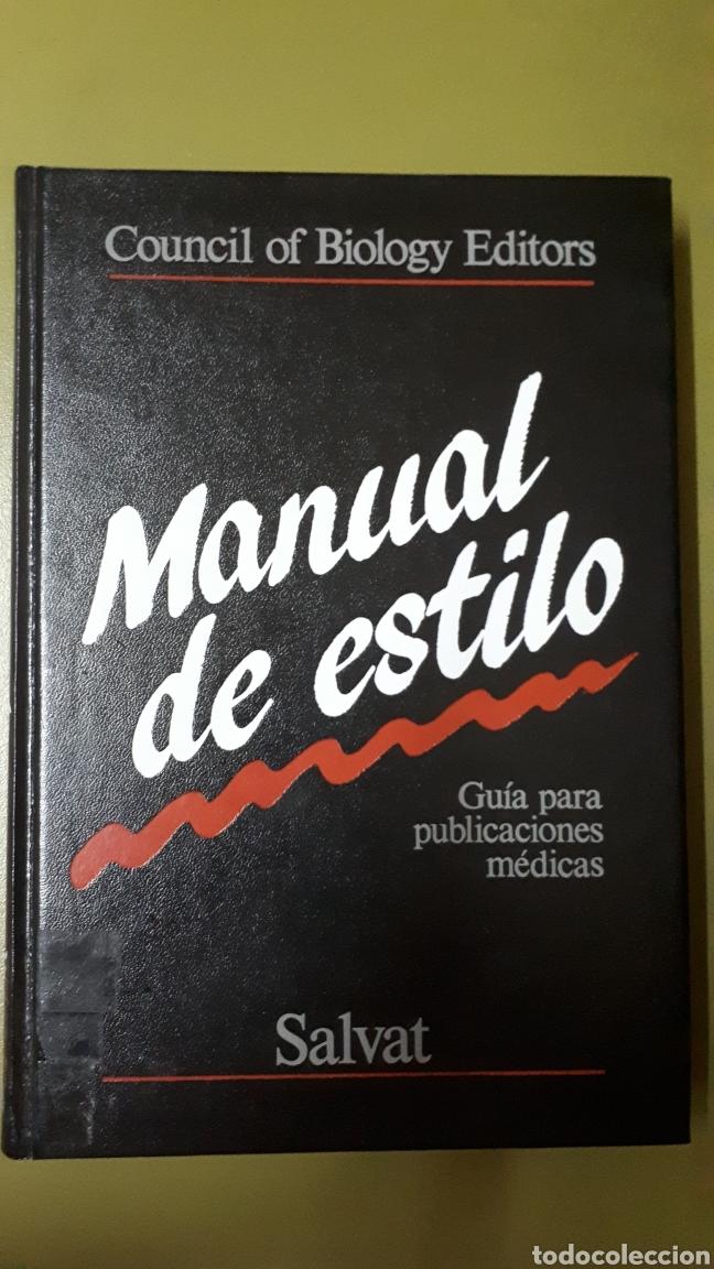 MANUAL DE ESTILO. SALVAT 1987. (Libros de Segunda Mano - Enciclopedias)