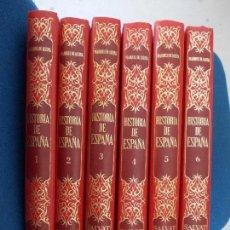 Enciclopedias de segunda mano: HISTORIA DE ESPAÑA 6 TOMOS SALVAT. Lote 131693986