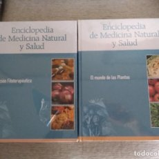 Enciclopedias de segunda mano: ENCICLOPEDIA DE MEDICINA NATURAL Y SALUD. 10 TOMOS. COMPLETA + DVD (PRECINTADO). Lote 131827330