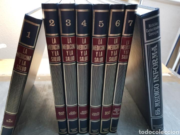 ENCICLOPEDIA LA MEDICINA Y LA SALUD RARA Y ESCASA (Libros de Segunda Mano - Enciclopedias)