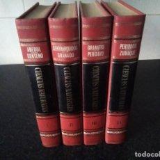 Enciclopedias de segunda mano: 79-ENCICLOPEDIA DE LAS CIENCIAS NATURALES, BRUGUERA, 4 TOMOS, . Lote 132084674