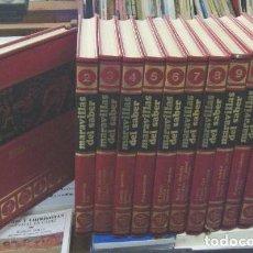 Enciclopedias de segunda mano: ENCICLOPEDIA MARAVILLAS DEL SABER. 12 TOMOS A-ENC-0259-SF-A. Lote 132141078