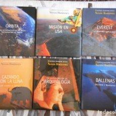 Enciclopedias de segunda mano: NUEVOS HORIZONTES. NATIONAL GEOGRAPHY. LOTE 6 LIBROS Y 20 DVD EN 5 TOMOS. MUY BUEN ESTADO. Lote 132167398