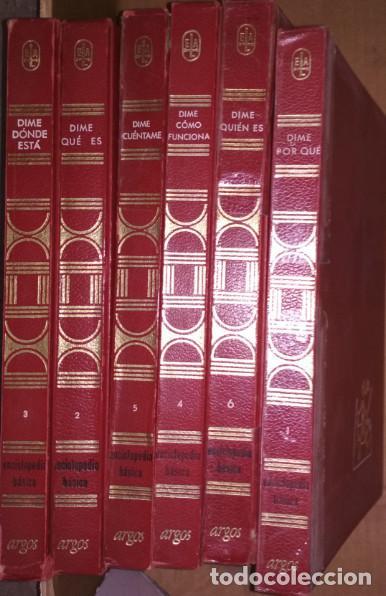 LIBROS, ENCICLOPEDIA TEMATICA ARGOS DIE 1ª EDICION 1968, VER FOTOS Y DESCRIPCION (Libros de Segunda Mano - Enciclopedias)