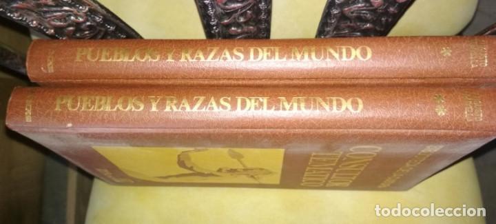 Enciclopedias de segunda mano: CONSULTOR TEMATICO, PUEBLOS Y RAZAS DEL MUNDO, 2 TOMOS, DANAE 1976, LIBROS - Foto 2 - 133355850
