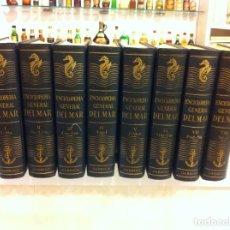 Enciclopedias de segunda mano: ENCICLOPEDIA GENERAL DEL MAR (8 TOMOS - COMPLETA) ED. EDICIONES GARRIGA, 1968. BARCELONA.. Lote 133896830
