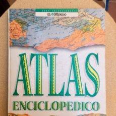 Enciclopedias de segunda mano: ATLAS ENCICLOPÉDICO EL MUNDO. Lote 134790226