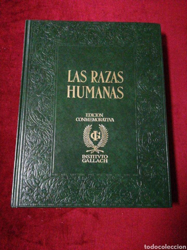 LAS RAZAS HUMANAS. EDICIÓN CONMEMORATIVA. INSTITUTO GALLACH. VOLUMEN IV. (Libros de Segunda Mano - Enciclopedias)