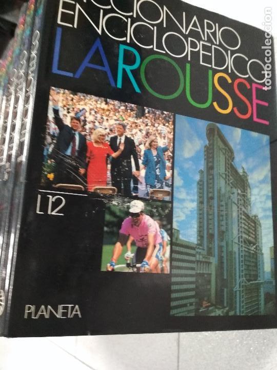 Enciclopedias de segunda mano: DICCIONARIO ENCICLOPEDICO LAROUSSE. 3ª edición1990. 12 TOMOS + 1 SUPLEMENTO - Foto 3 - 135021210