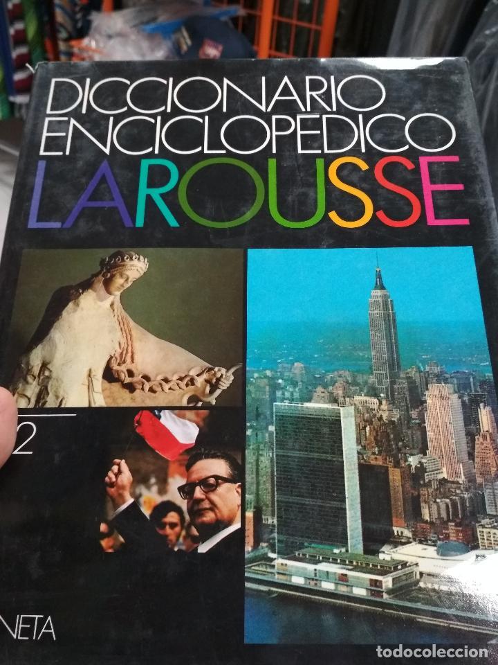 Enciclopedias de segunda mano: DICCIONARIO ENCICLOPEDICO LAROUSSE. 3ª edición1990. 12 TOMOS + 1 SUPLEMENTO - Foto 4 - 135021210