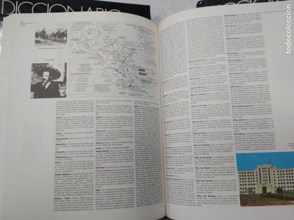 Enciclopedias de segunda mano: DICCIONARIO ENCICLOPEDICO LAROUSSE. 3ª edición1990. 12 TOMOS + 1 SUPLEMENTO - Foto 5 - 135021210