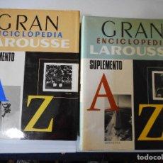 Enciclopedias de segunda mano: GRAN ENCICLOPEDIA LAROUSSE (SUPLEMENTOS )(2 TOMOS) Y90383. Lote 135107162