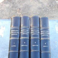 Enciclopedias de segunda mano: DICCIONARIO ENCICLOPEDICO LAROUSSE - RARA ENCUADERNACION - 4 TOMOS - COMPLETO. Lote 135213566