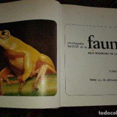 Libri di seconda mano: ENCICLOPEDIA SALVAT DE LA FAUNA. Lote 135599970