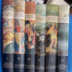 Enciclopedias de segunda mano: HISTORIA DE ESPAÑA INSTITUTO GALLACH 6 TOMOS . Lote 135765250