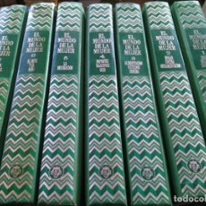 Enciclopedias de segunda mano - EL MUNDO DE LA MUJER -- 7 TOMOS COMPLETA -- PLAZA & JANES 1975 -- - 136485286