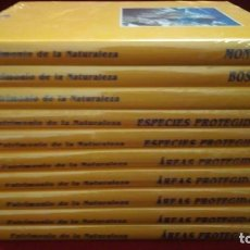 Enciclopedias de segunda mano: PATRIMONIO DE LA NATURALEZA, COLECCIÓN COMPLETA (10 TOMOS). Lote 136679886