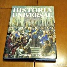 Enciclopedias de segunda mano: HISTORIA UNIVERSAL 20 TOMOS COMPLETA. Lote 136736242