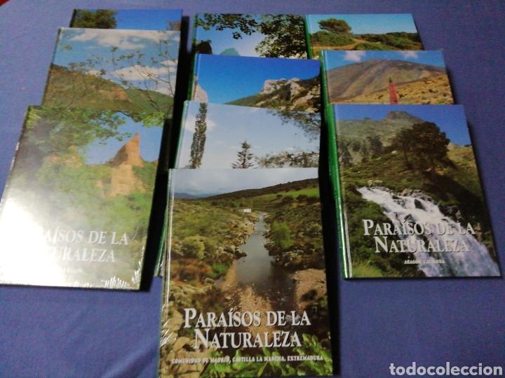 COLECCIÓN PARAÍSOS DE LA NATURALEZA (Libros de Segunda Mano - Enciclopedias)