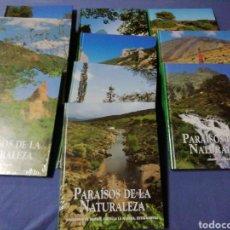 Enciclopedias de segunda mano: COLECCIÓN PARAÍSOS DE LA NATURALEZA. Lote 136782097