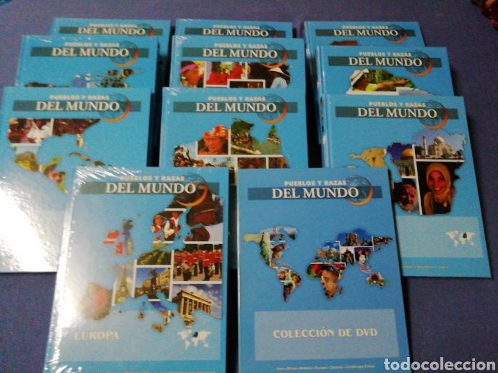 COLECCIÓN PUEBLOS Y RAZAS DEL MUNDO (Libros de Segunda Mano - Enciclopedias)