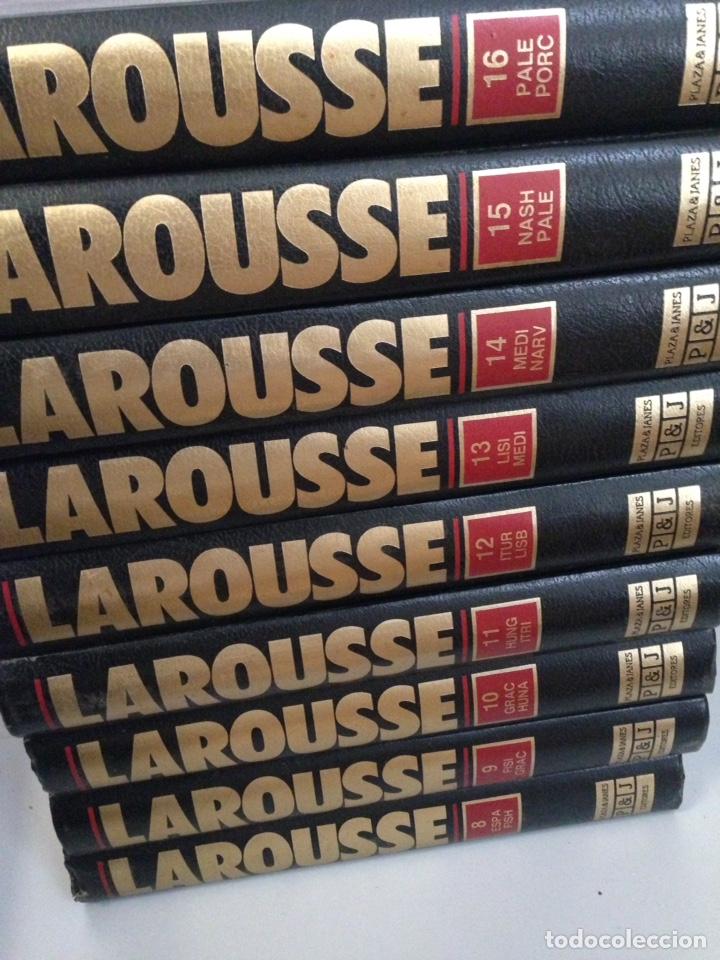 Enciclopedias de segunda mano: LOTE DE GRAN ENCICLOPEDIA DE LAROUSSE DEL 1 al 24 - Foto 2 - 137459150