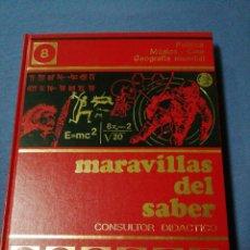 Enciclopedias de segunda mano: MARAVILLAS DEL SABER. TOMO 8. POLÍTICA. MÚSICA - CINE. GEOGRAFÍA MUNDIAL. . Lote 137592070