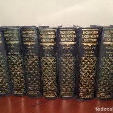 Enciclopedias de segunda mano: DICCIONARIO ENCICLOPÉDICO ABREVIADO ESPASA CALPE, 1957. Lote 137865824