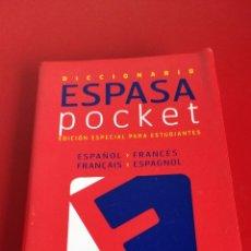 Enciclopedias de segunda mano: DICCIONARIO ESPASA POCKET ESPAÑOL - FRANCÉS. Lote 138077373