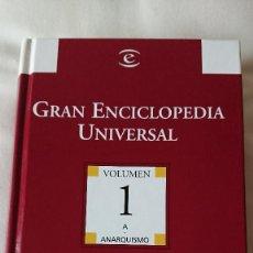 Enciclopedias de segunda mano: GRAN ENCICLOPEDIA UNIVERSAL - EDITORIAL ESPASA CALPE PARA EL MUNDO. Lote 138237258