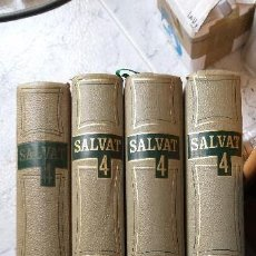 Enciclopedias de segunda mano: DICCIONARIO ENCICLOPÉDICO SALVAT 4 TOMOS 1967. Lote 139548430