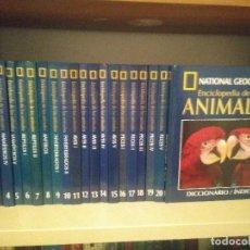 Enciclopedias de segunda mano: ENCICLOPEDIA DE LOS ANIMALES. NATIONAL GEOGRAPHIC. Lote 139761150
