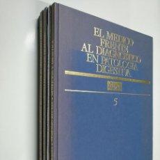 Enciclopedias de segunda mano: EL MÉDICO FRENTE AL DIAGNÓSTICO EN PATOLOGÍA DIGESTIVA. 5 TOMOS VOLUMENES. ANCORA. SA. TDK356. Lote 140257070