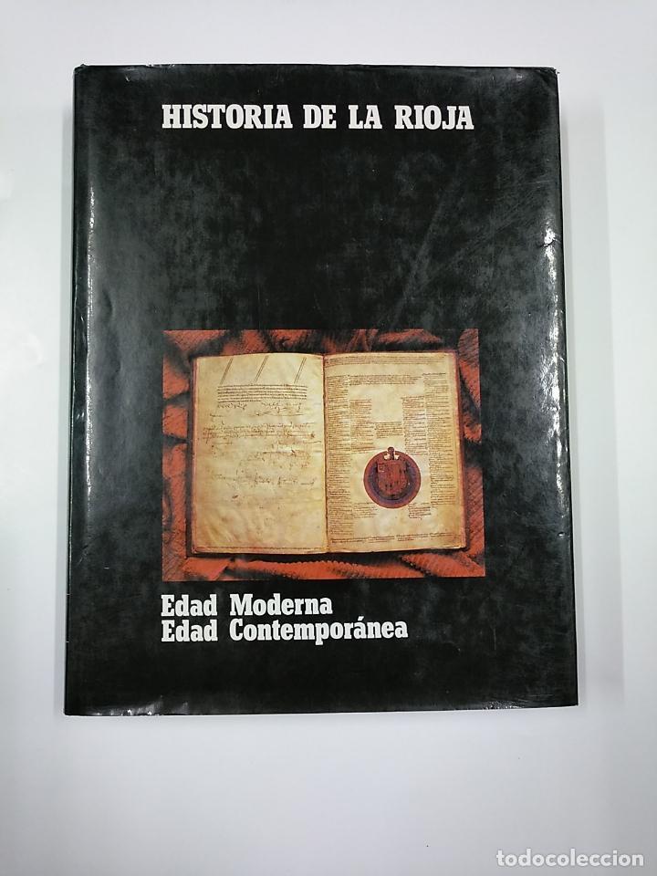 Enciclopedias de segunda mano: HISTORIA DE LA RIOJA. 3 TOMOS VOLUMENES. COLECCION COMPLETA. Arm09 - Foto 3 - 140257874