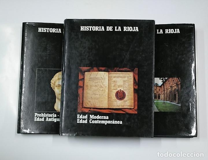Enciclopedias de segunda mano: HISTORIA DE LA RIOJA. 3 TOMOS VOLUMENES. COLECCION COMPLETA. Arm09 - Foto 6 - 140257874