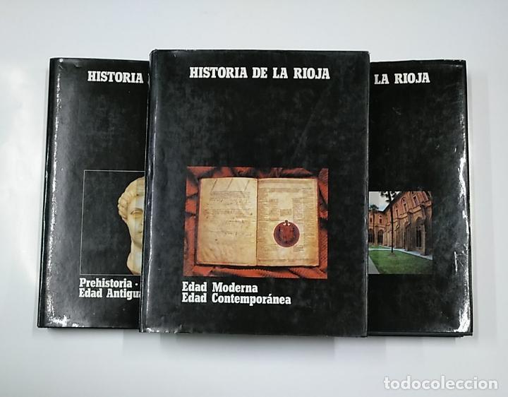 Enciclopedias de segunda mano: HISTORIA DE LA RIOJA. 3 TOMOS VOLUMENES. COLECCION COMPLETA. Arm09 - Foto 7 - 140257874